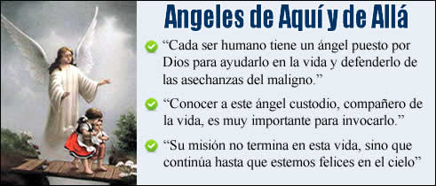 Angeles de aqui y angeles alla